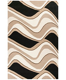 "KAS Eternity Waves 3'3"" x 5'3"" Area Rug"