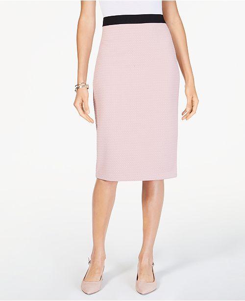ab2d59d81ec ... Alfani Midi Pencil Skirt