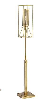 Pacific Coast Warm Gold Uplight Floor Lamp