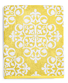 Charter Club Elite Fashion Medallion Cotton Bath Towel, Created for Macy's