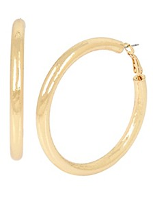 Stardust Large Hoop Earrings