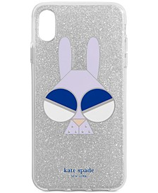 Glitter Monkey Bunny iPhone XS Max Case