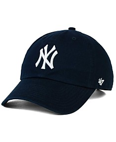 475b72edb5a22 '47 Brand New York Yankees On-Field Replica CLEAN UP Strapback Cap · '