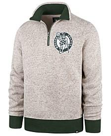 Men's Boston Celtics Kodiak Quarter-Zip Pullover