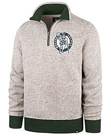 '47 Brand Men's Boston Celtics Kodiak Quarter-Zip Pullover