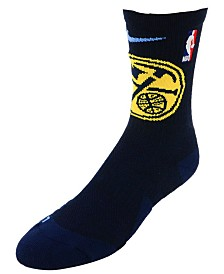 Nike Men's Denver Nugget Elite Team Crew Socks