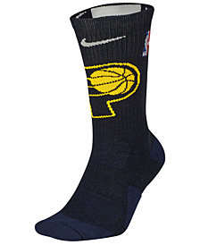 Nike Men's Indiana Pacers Elite Team Crew Socks