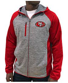 G-III Sports Men's San Francisco 49ers Neutral Zone Full-Zip Hoodie