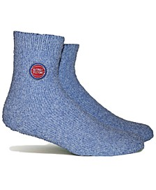 Women's Detroit Pistons Team Fuzzy Socks