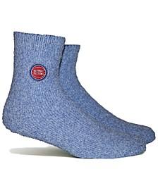 Women's Detroit Pistons Team Fuzzy Socks