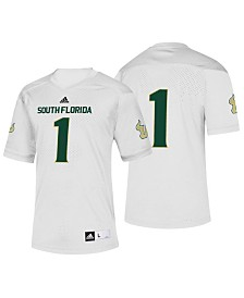 adidas Men's South Florida Bulls Replica Football Jersey