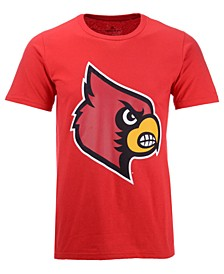 Men's Louisville Cardinals Branded Big Logo T-Shirt