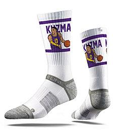 Strideline Los Angeles Lakers Kyle Kuzma Action Crew Socks