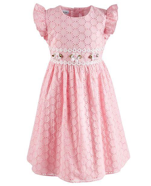 6ee5372f52ca Bonnie Jean Little Girls Eyelet Dress & Reviews - Dresses - Kids ...