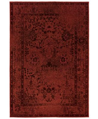 "CLOSEOUT! Area Rug, Revamp REV7550 1'10"" x 7'6"" Runner Rug"