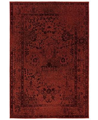 Oriental Weavers Area Rug Revamp Rev7550r Ruby 5 3 Quot X 7 6