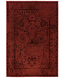 "CLOSEOUT! Oriental Weavers Area Rug, Revamp REV7550 9'10"" x 12'10"""