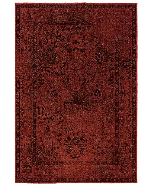"Oriental Weavers CLOSEOUT! Area Rug, Revamp REV7550 7'10"" x 10'10"""
