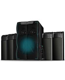 beFree Sound Bluetooth 4.1 Channel Multimedia Wired Speaker