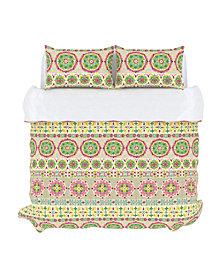 Bliss Duvet Cover Set, Full/Queen, Peony