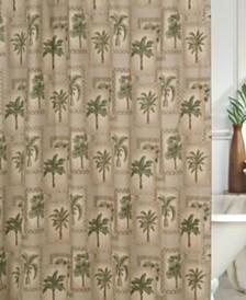 Karin Maki Palm Grove Shower Curtain