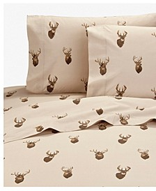 Browning Whitetails Queen Sheet Set