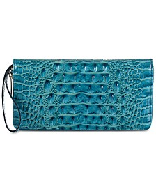Brahmin Melbourne Skyler Embossed Leather Wallet