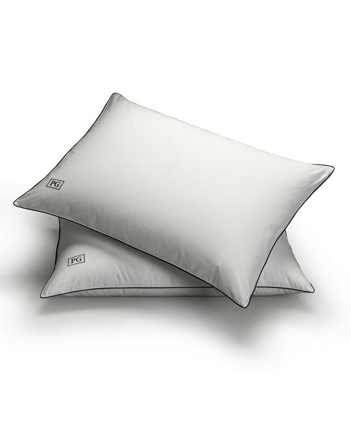 Pillow Guy - White Down Stomach Sleeper Soft Pillows Certified RDS, Set of 2