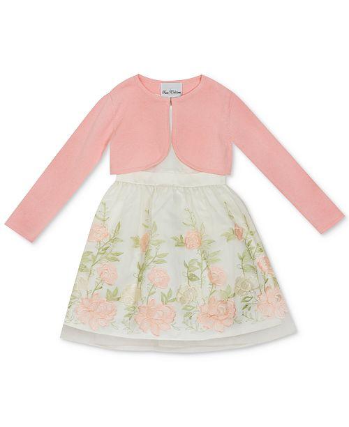 9aaad3b6b3b ... Rare Editions Matching Sister Dress Toddler