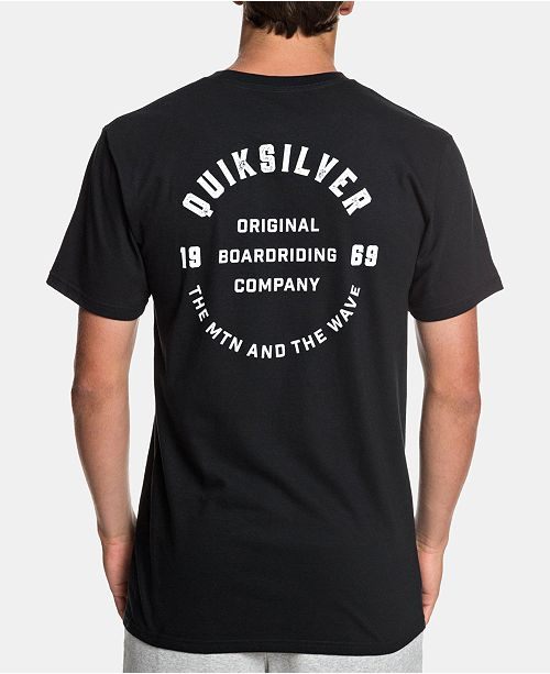Quiksilver Men's Alluring Strange Graphic T-Shirt