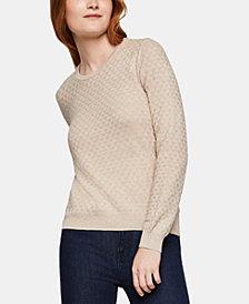 BCBGeneration Cotton Textured Sweater