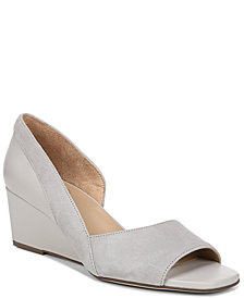 Naturalizer Zula Peep Toe Wedge Sandals