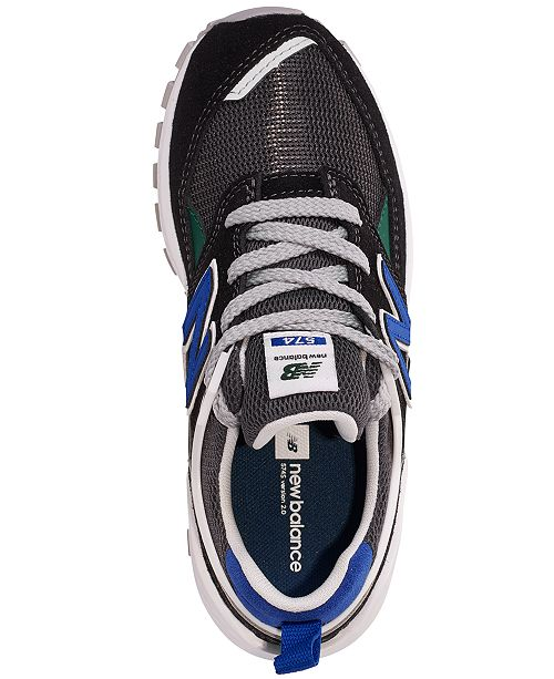 size 40 05eb4 e1788 New Balance Boys' 574 v2 Casual Sneakers from Finish Line ...