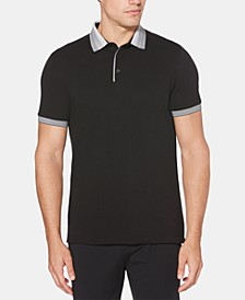 Men's Ombré Collar Polo