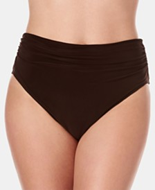 Magicsuit Shirred Bikini Bottoms