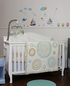 Nurture Cosmo Dots Blue 3 Piece Nursery Set