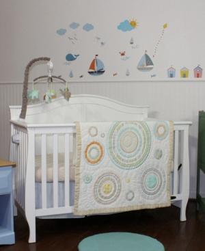 Nurture Cosmo Dots Blue 3 Piece Nursery Set