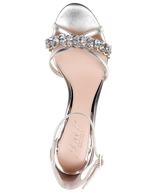 6bae74f23e ... Jewel Badgley Mischka Jewel by Badgley Mischka Giona II Evening Sandals  ...