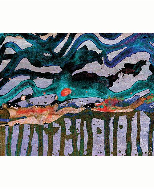 "Creative Gallery Mitsu Beta Abstract 24"" x 36"" Acrylic Wall Art Print"
