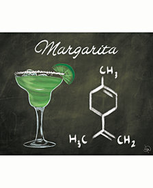 "Margarita Chalkboard Formula 24"" x 36"" Acrylic Wall Art Print"