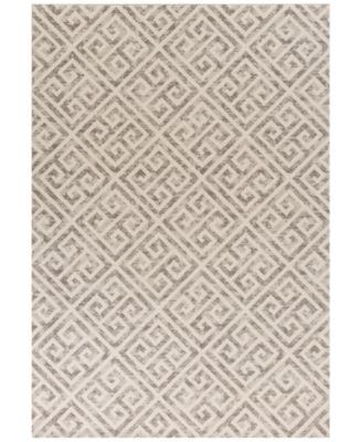"Reflections Greek Key 7433 Taupe 2'7"" x 4'11"" Area Rug"
