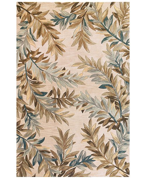 Kas Sparta Tropical Branches Area Rug