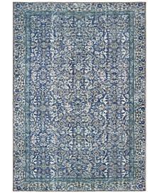 "Sofia 85811 Blue/Blue 1'9"" x 2'8"" Area Rug"