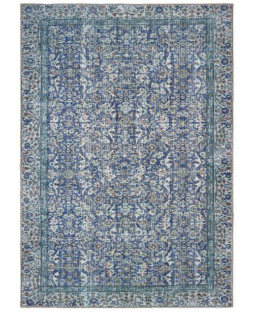 Oriental Weavers Sofia 85811 Blue Blue 4 3 X 6 3 Area Rug Reviews Rugs Macy S