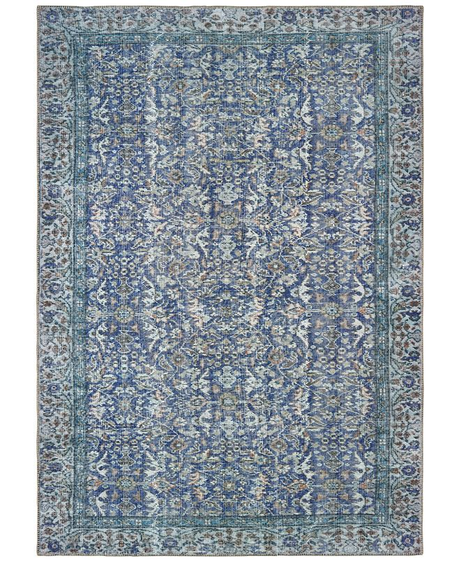 "Oriental Weavers Sofia 85811 Blue/Blue 4'3"" x 6'3"" Area Rug"