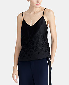 RACHEL Rachel Roy Ophelia Burnout Star Cami, Created For Macy's