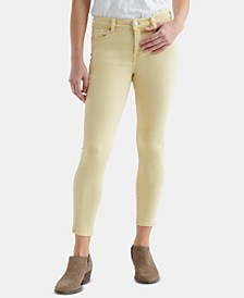 Ava Mid-Rise Skinny Ankle Jeans
