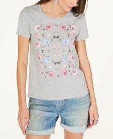 Lucky Brand Floral T-Shirt