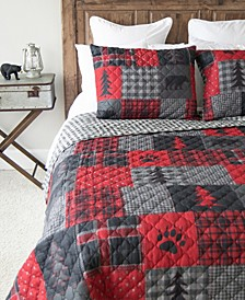 Red Forest Quilt Collection, Queen