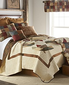 Maple Leaf Cotton Quilt Collection, Queen
